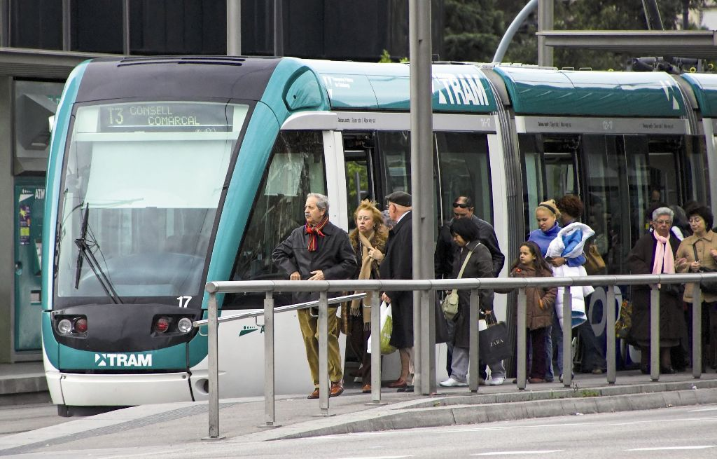 Un Tramvia de Barcelona