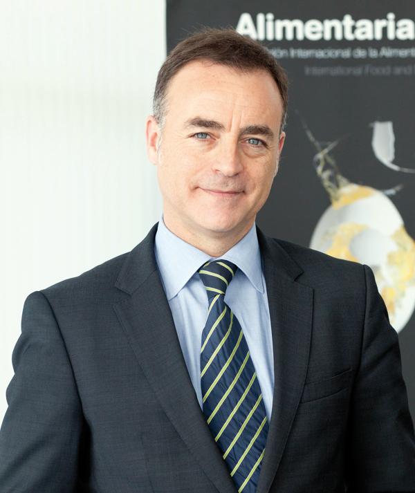 Josep Antoni Valls, director general d'Alimentaria Exhibitions.