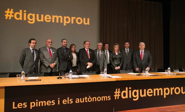 """Pimec va reclamar als poders públics que """"pensin primer en petit"""", tal com exigeix l'Small Business Act de la Comissió Europea"""