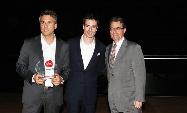 Josen Ametller i Marc Bonavia amb Artur Mas