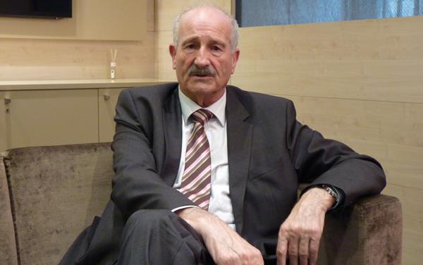 Domènec Espadalé, president de la Cambra de Comerç de Girona