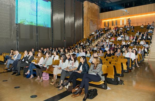 Més de 250 directius van acudir a la I Conferència Internacional de Recursos Humans.