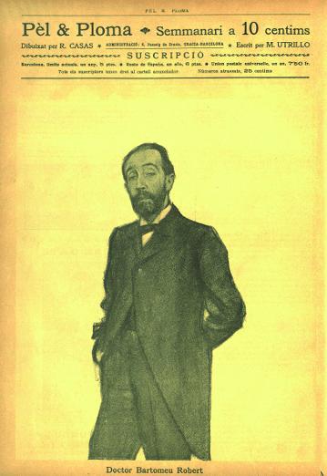 El Doctor Robert, per Ramón Casas
