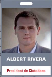 Albert Rivera. President de Ciutadans