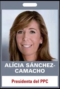 Alícia Sánchez-Camacho. Presidenta del PPC