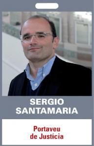 Sergio Santamaria. Portaveu de Justícia