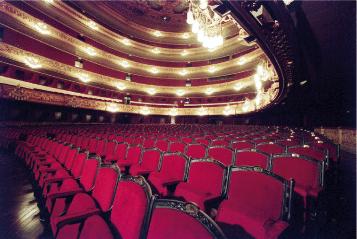 Gran Teatre del Liceu interior