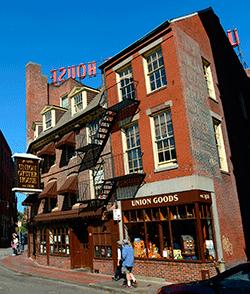 L'Union Oyster House, el restaurant en funcionament més antic dels Estats Units ( va obrir les seves portes el 1826).