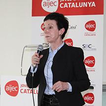 Carme Ruscalleda va ser la ponent d'un dels dinars mensuals de l'AIJEC.