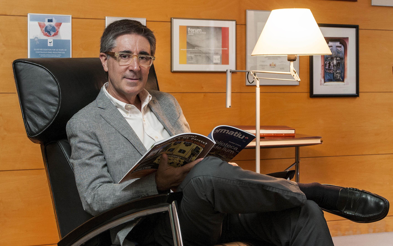 Entrevista A Jordi Gosalves, Presidente Del Colegio De Aparejadores, Arquitectos  Técnicos E Ingenieros De Edificación De Barcelona