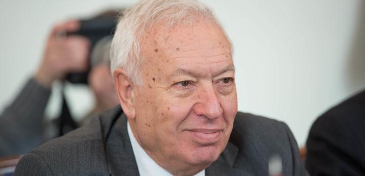 "Entrevista a <span style=""color: #AEB100; font-weight: bold; text-transform"">José Manuel García-Margallo,</span> exministro de Asuntos Exteriores"